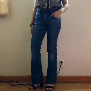 (trying to get rid of MAKE OFFER!)D&G flare jeans